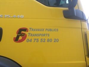 Logo camion