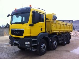 Transport Camion de travaux